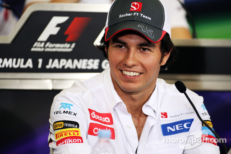 2012 - Sergio Perez, Sauber F1 Team