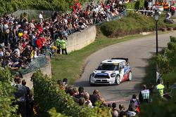 Yvan Muller and Guy Leneuve, Mini John Cooper Works WRC