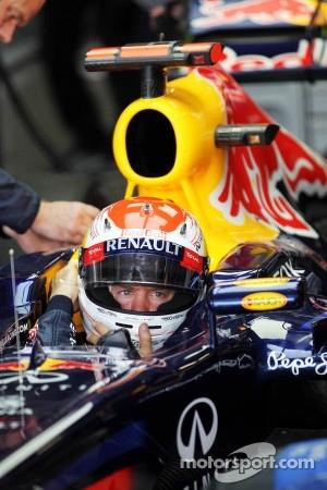Sebastian Vettel Red Bull-Renault, Japanese GP pole winner