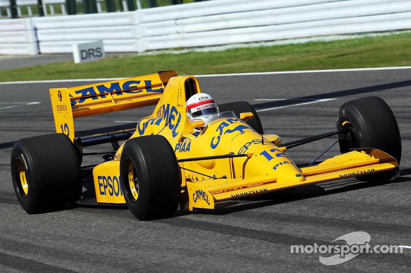 Satoru Nakajima, in Lotus 101