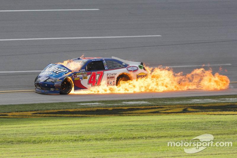 Herbst 2012: Feuer bei Bobby Labonte