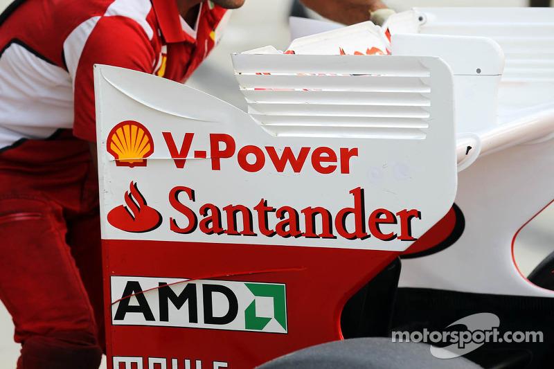 Ferrari achtervleugel