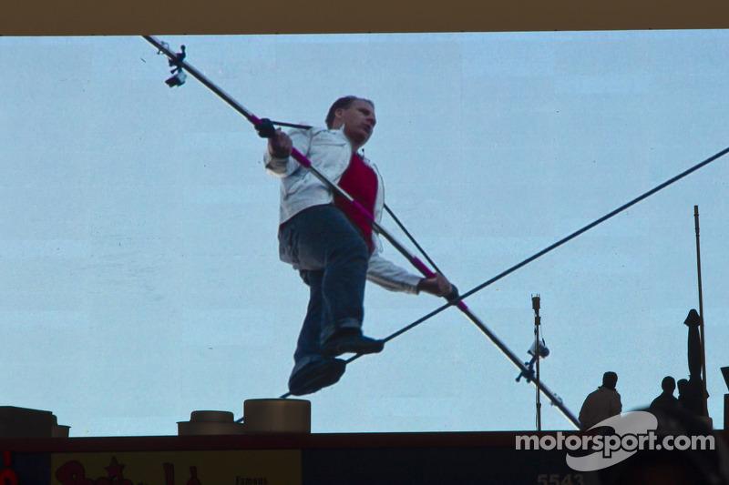 A tightrope walker
