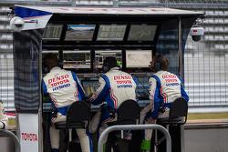 Toyota race engineers