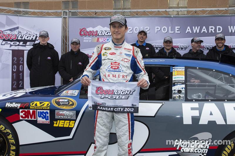 Pole winner Kasey Kahne, Hendrick Motorsports Chevrolet