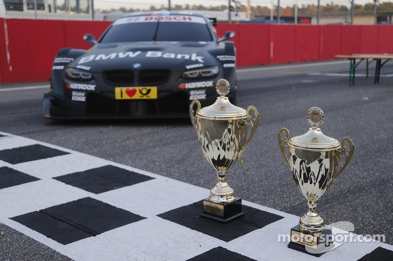 Winner Trophies of Bruno Spengler, BMW Team Schnitzer BMW M3 DTM