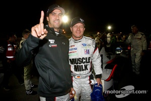 ALMS P1 champions Lucas Luhr and Klaus Graf