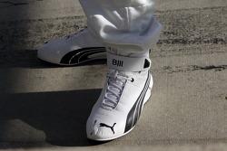 Bill Auberlen's shoes