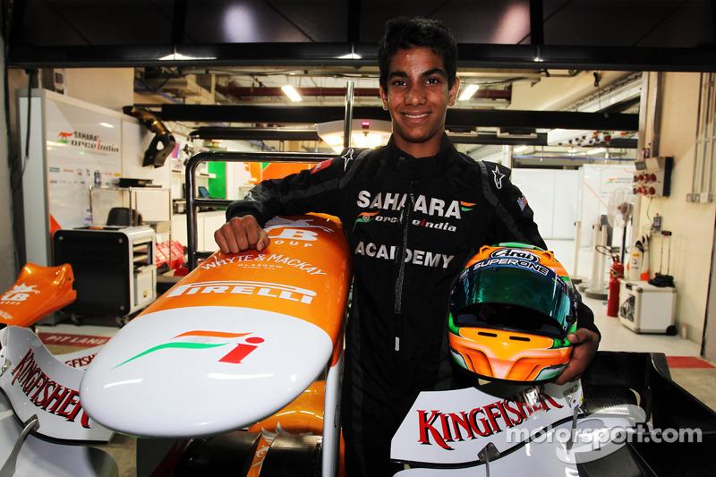 Jehan Daruvala, One From A Billion Academy Driver met Sahara Force India F1 Team