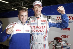 Pole winners Nicolas Lapierre and Alexander Wurz