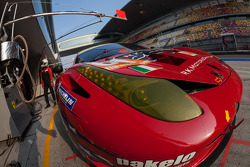 #61 AF Corse-Waltrip F458 Italia: Robert Kauffman, Rui Aguas