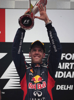 1ste plaats Sebastian Vettel, Red Bull Racing