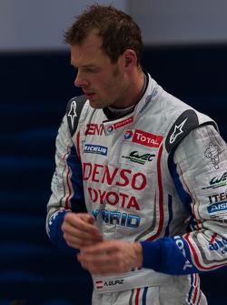 Race winner Alexander Wurz