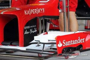 Ferrari F2012 front wing