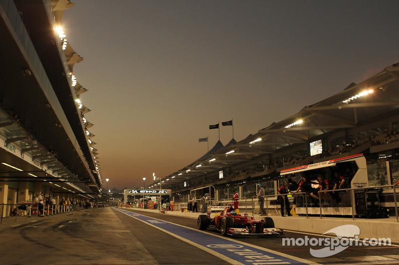 Fernando Alonso, Ferrari verlaat de pits