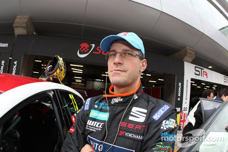 Fredy Barth, SEAT Leon WTCC, SUNRED Engineering