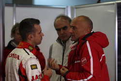 Tiago Monteiro, Honda Civic Super 2000 TC, Honda Racing Team Jas and Gabriele Tarquini, SEAT Leon WTCC, Lukoil Racing Team