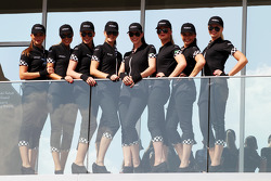 Etihad grid girls