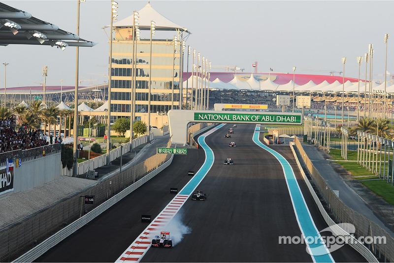Lewis Hamilton, McLaren blokkeert banden