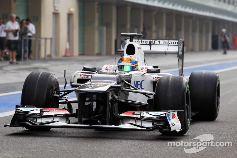 Esteban Gutierrez, Sauber derde rijder