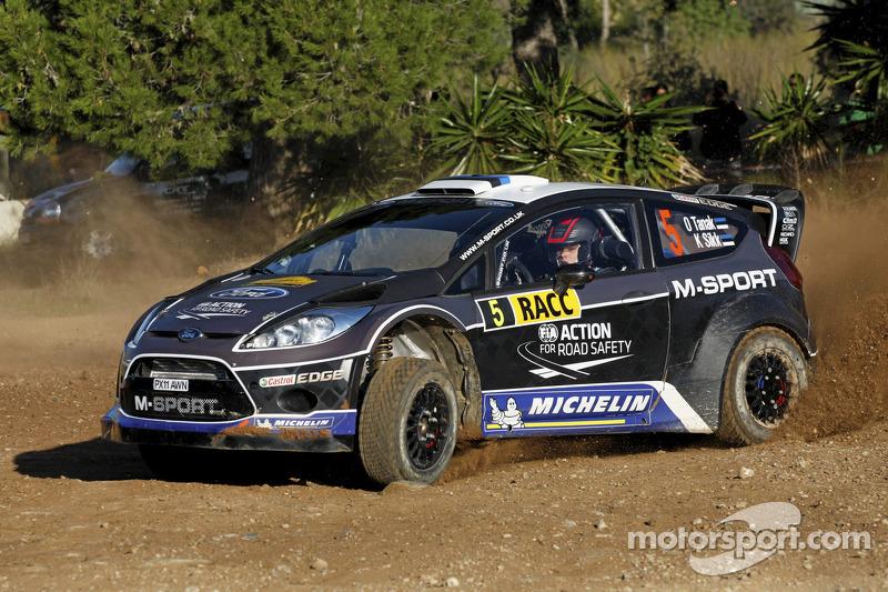 Ott Tanak e Kuldar Sikk, Ford Fiesta RS WRC, M-Sport Ford World Rally Team