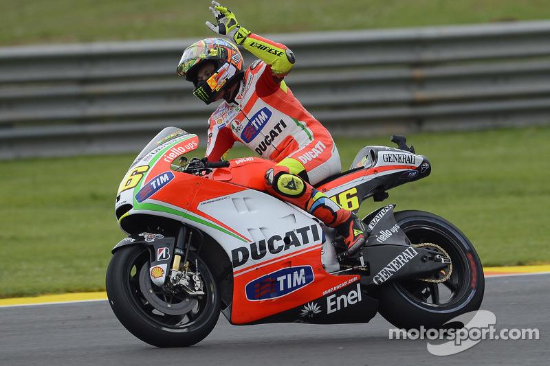 Valencia 2012 - Amarga despedida de Ducati