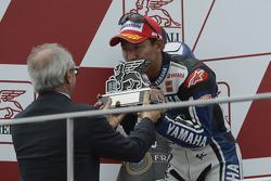 Podium: second place Katsuyuki Nakasuga, Yamaha Factory Racing