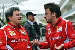 Fernando Alonso, Ferrari met Fabrizio Borra, Personal Trainer