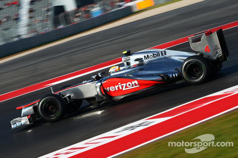 2012 (Austin): Lewis Hamilton (McLaren-Mercedes MP4-27)
