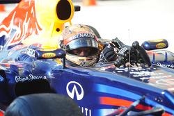 Le second Sebastian Vettel, Red Bull Racing