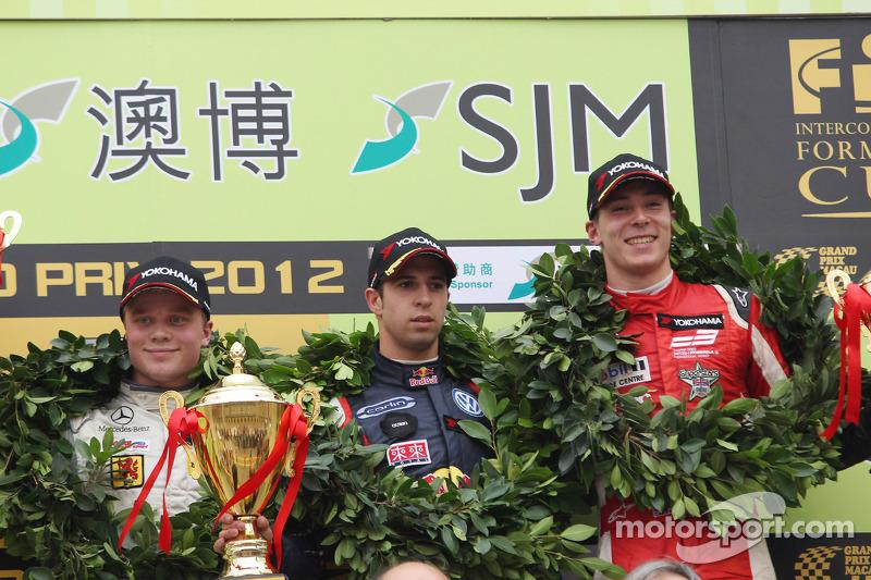 2012: 1. Antonio Felix da Costa, 2. Felix Rosenqvist, 3. Alex Lynn