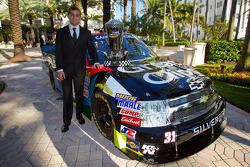 NASCAR Camping World Truck Series kampioen James Buescher, Turner Motorsports Chevrolet