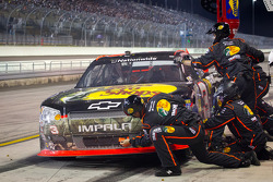 Pit stop for Austin Dillon, Richard Childress Racing Chevrolet