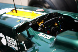 Caterham CT01 steering wheel