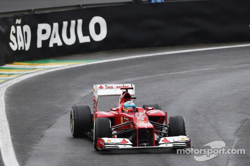 Фернандо Алонсо. ГП Бразилии, Воскресная гонка.