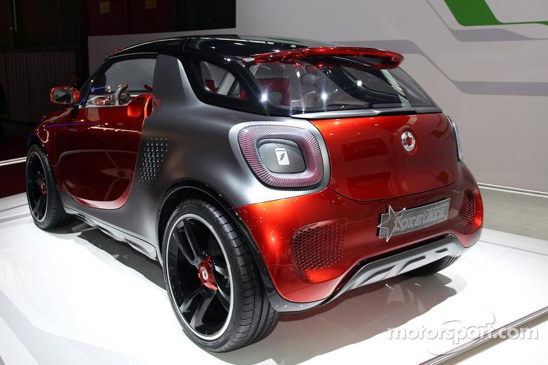 Smart Forstars At Bologna Motor Show Automotive Photos