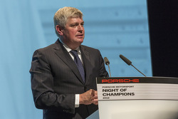 Matthias Müller, President of the Executive Board, Porsche