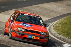 #169 Roadrunner Racing Renault Clio: Joachim Steidel, Volker Kühn, Nadir Zuhour, Mohammed Al Oawis