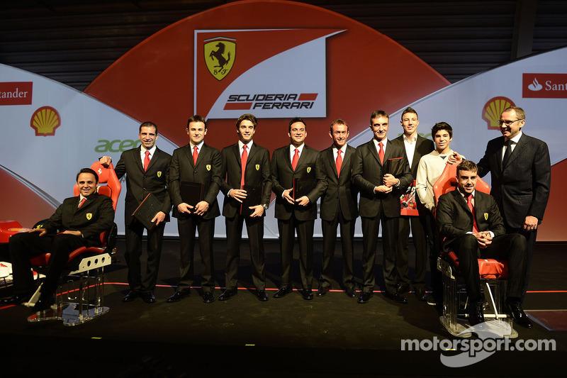 Фернандо Алонсо и Фелипе Масса. Рождество в семье Ferrari, Особое мероприятие.