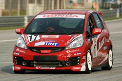 #17 Honda Jazz: Aaron Lim, Eddie Liew - Honda Malaysia Racing Team