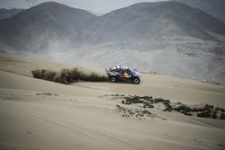 #303 Buggy: Carlos Sainz, Timo Gottschalk prueban cerca de Lima, Peru