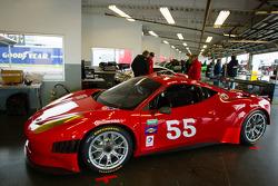 #55 AF - Waltrip Ferrari 458