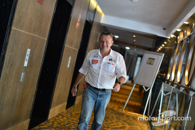 Director de la carrera Dakar, Etienne Lavigne