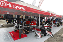 Husqvarna team area