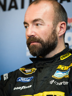 Michael Shank Racing press conference: Marcos Ambrose