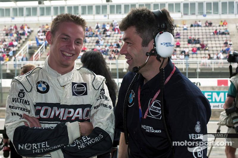 Jenson Button (2000, 20 años)
