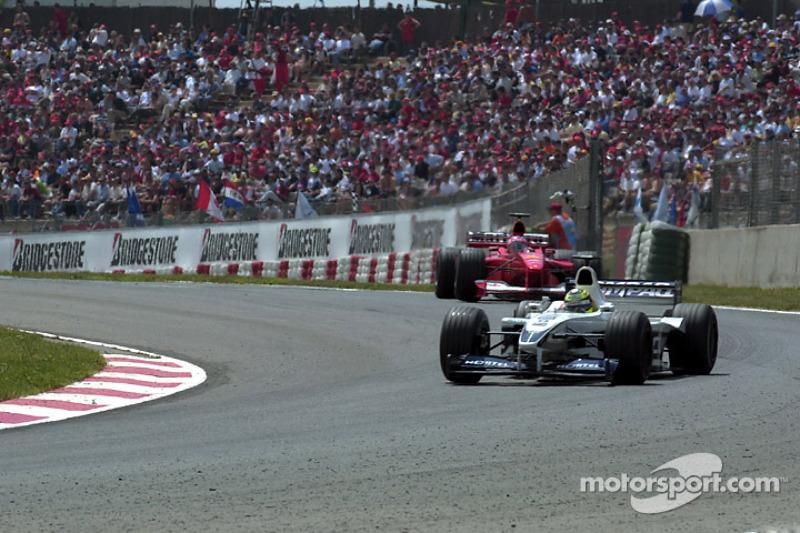 Ральф Шумахер. ГП Испании, Воскресная гонка.