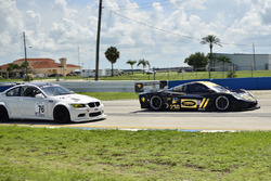 #76 MP1B BMW M3, James Hamman, H&H Racing, #230 FP1 Corvette Daytona Prototype, William Hubbell, Alex Popow, Hubbell Racing