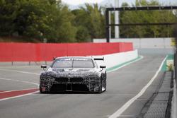 BMW M8 GTE tes Barcelona