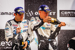 Podio: Ott Tänak, Martin Järveoja, Ford Fiesta WRC, M-Sport